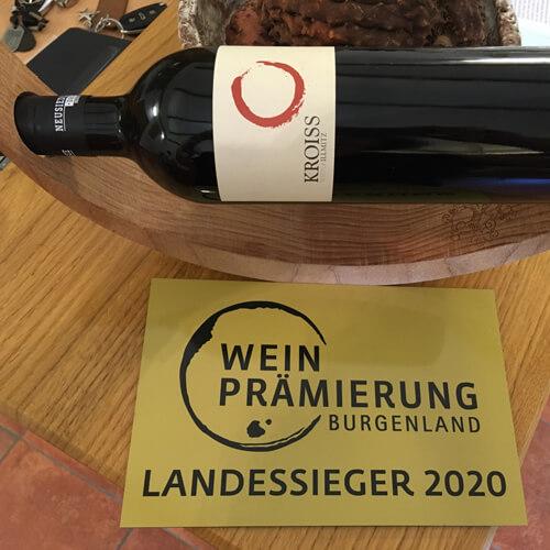 Prämierter Wein vom Weingut Kroiss Wien Illmitz